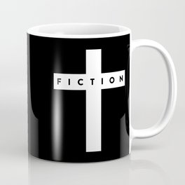 Fiction Cross Dark Coffee Mug
