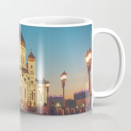 Cathedral of Christ the Savior in Moscow, Russia Coffee Mug