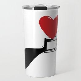 Pedestal love Travel Mug