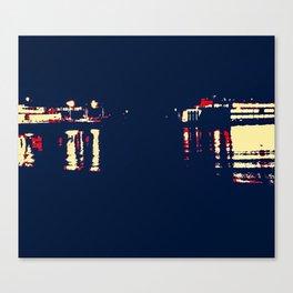 Dark Arrivals - Ferry series I Canvas Print