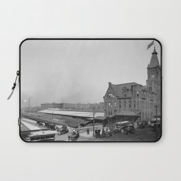 Chicago and North Western Railway Station, Chicago, Illinois Laptop Sleeve