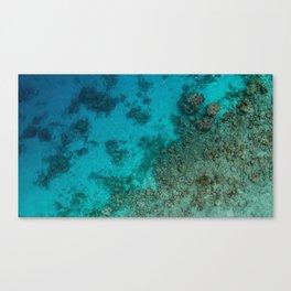 Maldives Ocean Canvas Print