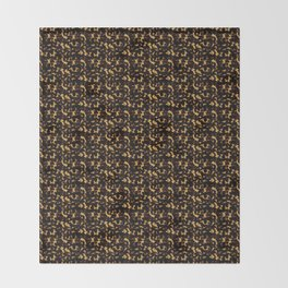 Light Tortoiseshell Throw Blanket