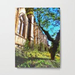 New York Cathedral Metal Print