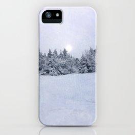 Tree Line iPhone Case