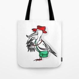 Adventurous Albatross Tote Bag