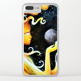 The Sun and Mercury Clear iPhone Case