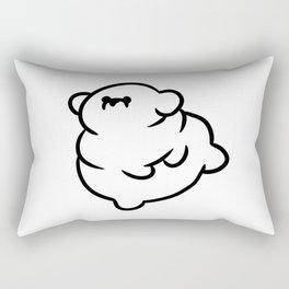 Chubby Doggo Rectangular Pillow
