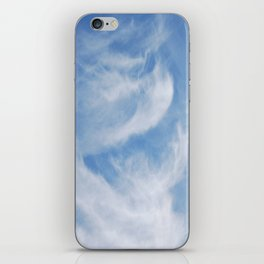 Clouds and sky iPhone Skin