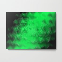 Abstract green pattern Metal Print