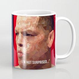 I'm Not Surprised - Nate Diaz Coffee Mug