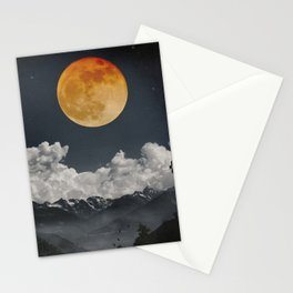 Moon Melodies Stationery Cards