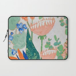 Proteas and Birds of Paradise Painting Laptop Sleeve
