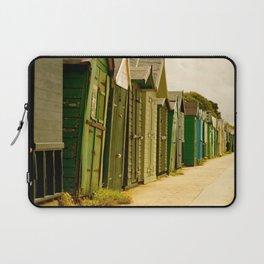 Beach Huts Laptop Sleeve