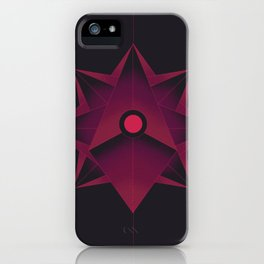 Holo-bloom iPhone Case
