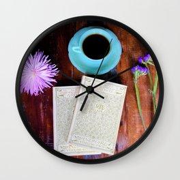 Jane Eyre & Jadeite - Part 2 Wall Clock