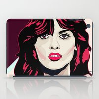 80s iPad Cases featuring 80s Pink by Anna McKay