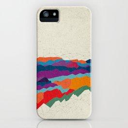 Landscape on Mars iPhone Case