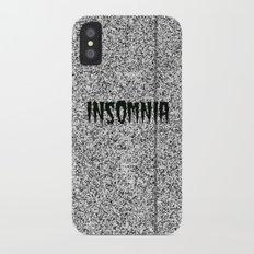 Insomnia iPhone X Slim Case