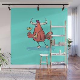 Taurus (Zodiac set) Wall Mural