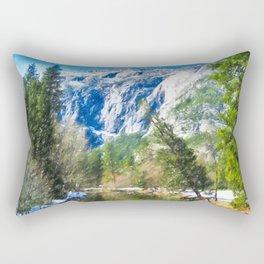 Panorama of Yosemite National Park Rectangular Pillow