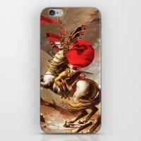 napoleon iPhone & iPod Skins featuring Napoleon by Marko Köppe