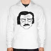 poe Hoodies featuring Poe by Art by Ash