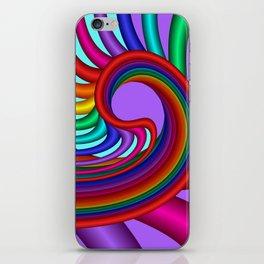 fluid -244violet iPhone Skin