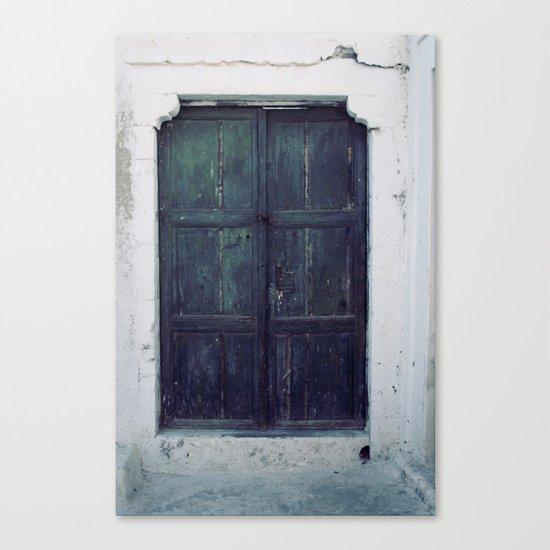 Santorini Door II Canvas Print