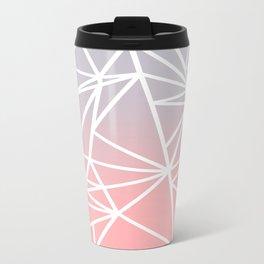 Gradient Mosaic 1 Metal Travel Mug