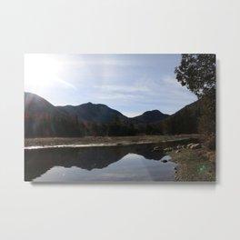 High Peaks Upstate New York Lake Placid Metal Print