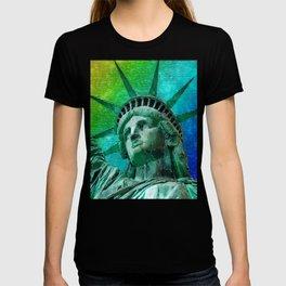Pop Art Statue of Liberty T-shirt