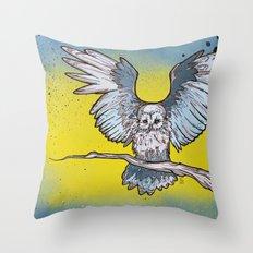 Stirgi the Owl Throw Pillow