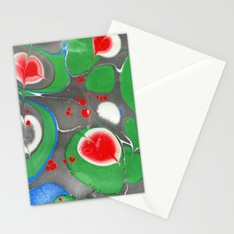 The leaves of a pond Stationery Cards