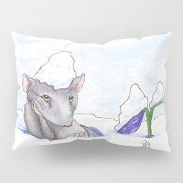 First Day of Spring Pillow Sham