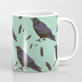 Mint Raven Coffee Mug