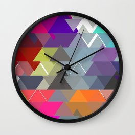 Triangle No. 3 Wall Clock