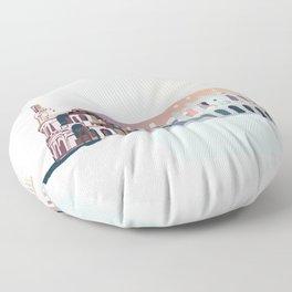 Colosseum Rome Floor Pillow