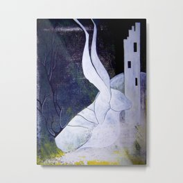 guard to the ivory tower Metal Print