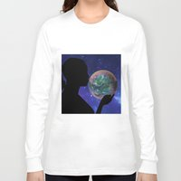 bubble Long Sleeve T-shirts featuring Bubble by Cs025