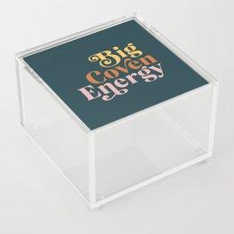 Big Coven Energy - Navy Acrylic Box