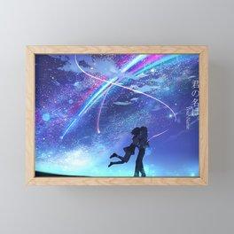 Your Name - Kimi No Na Wa Framed Mini Art Print