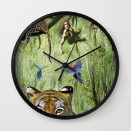 Tarzan's Last Jump Wall Clock