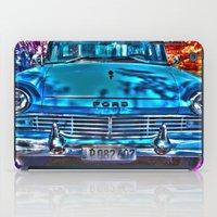 cuba iPad Cases featuring 1950's Cuba Ford by Brian Raggatt