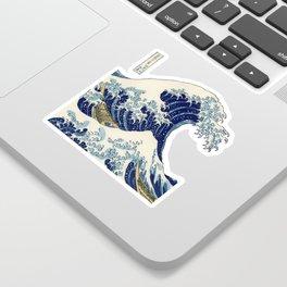 The Great Wave off Kanagawa Sticker