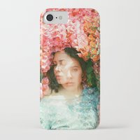 mercedes iPhone & iPod Cases featuring Mercedes Esquivel  by parkerwoods