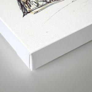 Cobain Canvas Print