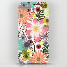 Summer Flowers I  Slim Case iPhone 6 Plus