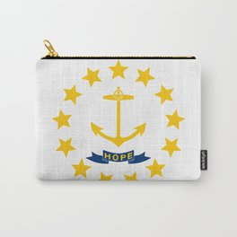 Rhode Island State Flag Carry-All Pouch
