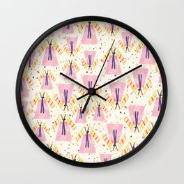 Happy Hanbok Wall Clock
